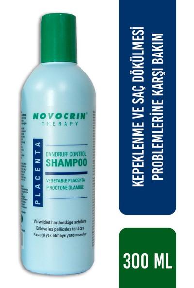 Novocrin Placenta Kepekli ve Dökülen Saçlar Bakım Şampuanı 300 ml