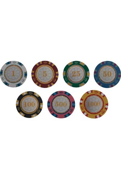 Poker Kings 14 gr Clay Poker Chip Seti 300'lü