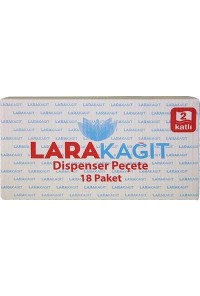 Lara Dispenser Peçete 3 Katlama 200'lü 18 Paket