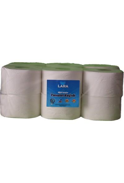Lara Mini Jumbo Tuvalet Kağıdı 3,5 kg 12'li