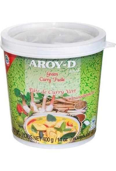 Aroy-D Yeşil Köri Ezmesi Green Curry Paste 400 gr