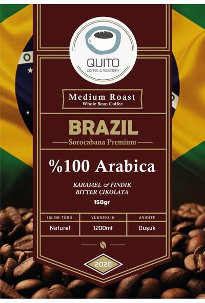 Quito Coffee - Brazil Sorocabana Premium Filtre Kahve 150 gr
