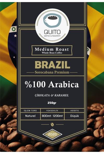 Quito Coffee - Brazil Sorocabana Premium Filtre Kahve 250 gr