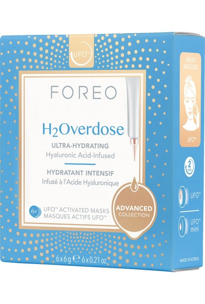Foreo Ufo H2OVERDOSE 6'lı Maske
