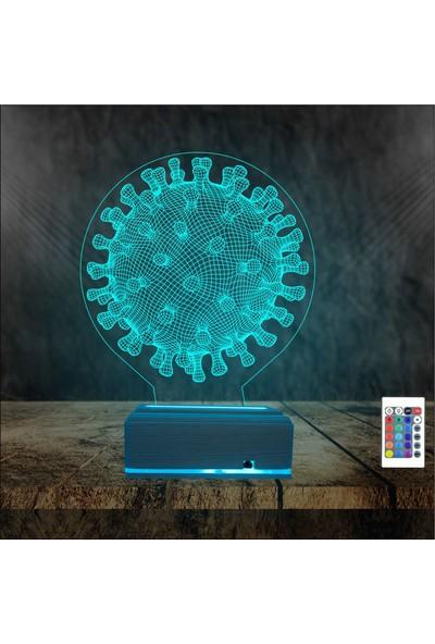 Algelsin Gece Lambası Dekoratif Led Masa Lambası
