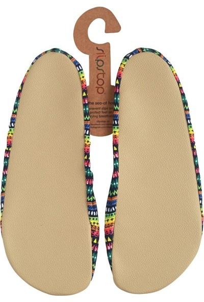 Slipstop Ethnic Kadın Kaydırmaz Ayakkabı - Patik