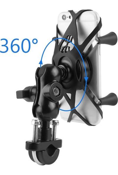 Knmaster x Serisi Motosiklet Bisiklet Atv Telefon Tutucu