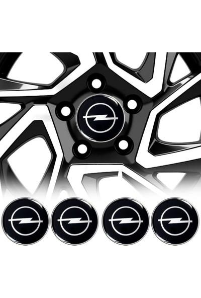 Carmaniaks Opel Jant Göbeği Göbek Arması Sticker 4'lü Set Carmaniaks CRME0481