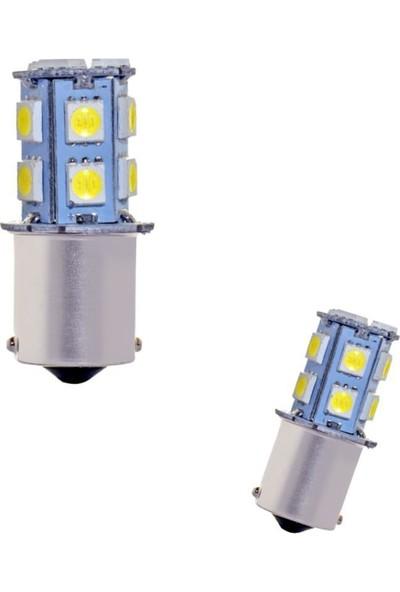 Carmaniaks Tek Duy 1156 Beyaz Stop ve Geri Vites LED Ampulü Carmaniaks CRME0060