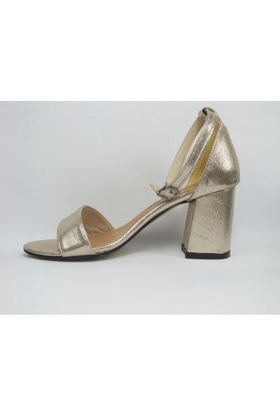 Tria Platin Tek Bant Kadın Ayakkabı 04040236