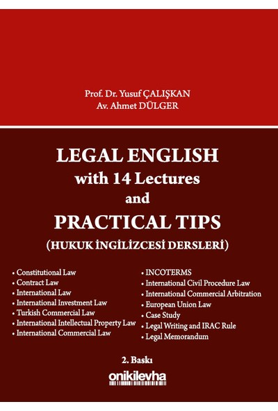 Legal English With 14 Lectures And Practical Tips