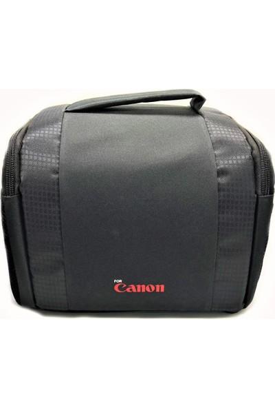 Refleks Canon Dslr Fotoğraf Makinesi Kare Model Çanta