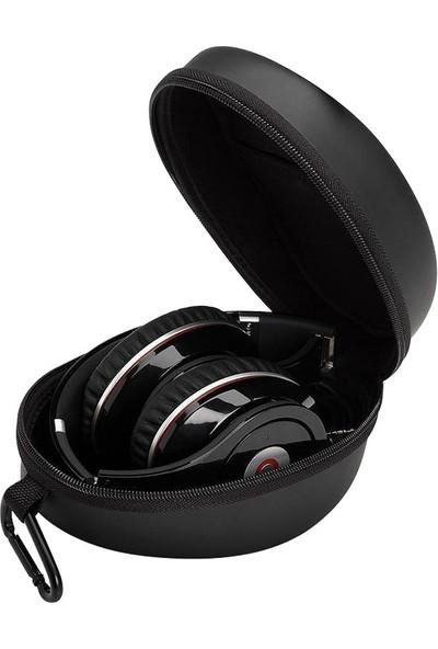 Beats Monster Çelik Askılı Kulaklık Taşıma Çantası Siyah