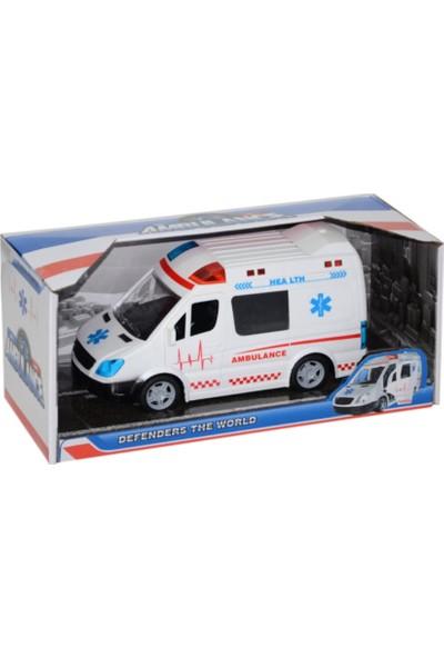 Ysn Toys Sesli Kapısı Açılan Ambulans