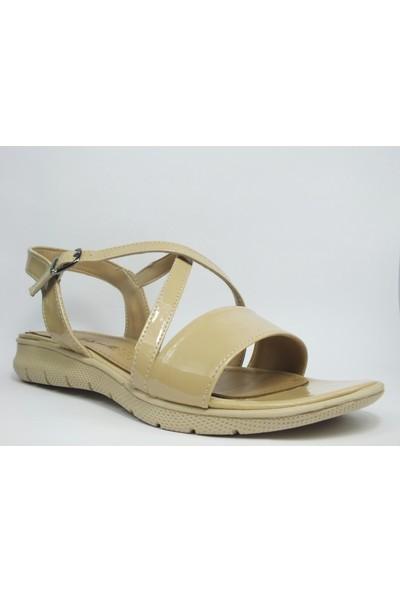 Tria Kahverengi Sandalet Kadın Ayakkabı 07010236