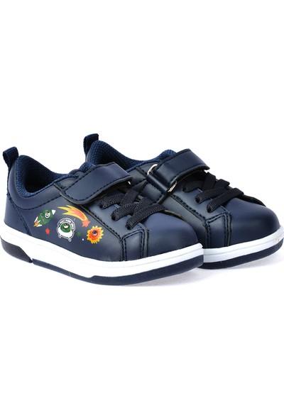 Ayakland S21 Günlük Cırtlı Kız/Erkek Çocuk Spor Ayakkabı