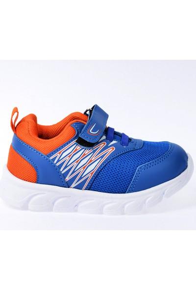 Kiko S12 Günlük Fileli Cırtlı Kız/Erkek Çocuk Spor Ayakkabı