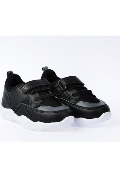 Kiko S19 Günlük Fileli Cırtlı Kız/Erkek Çocuk Spor Ayakkabı