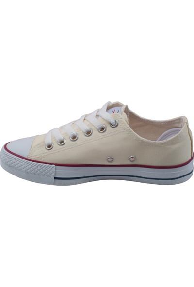 Muya 85464-3114 Günlük Keten Kadın Spor Ayakkabı