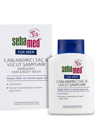 Sebamed For Men Energizing Hair & Body Wash 200 ml