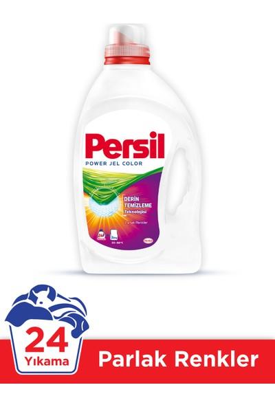 Persil Power Jel Sıvı Çamaşır Deterjanı 24 Yıkama Renkliler İçin