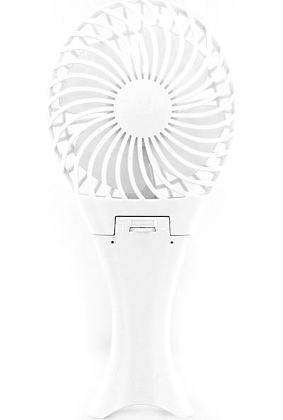 CoverZone Masaüstü ve Taşınabilir El Fanı Vantilatör Beyaz