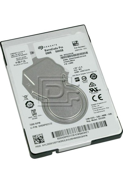"Seagate BarraCuda Pro 500GB 7200RPM 128MB Cache SATA 6.0GB/s 2.5"" Hard Drives ST500LM034"