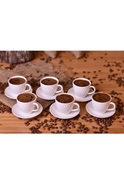 Bambum Narvia - 6 Kişilik Kahve Fincan Takımı