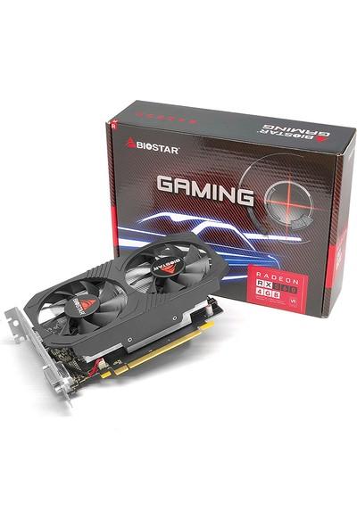 Biostar AMD Radeon RX560 4GB (Dual Cooling) 128Bit GDDR5 (DX12) PCI-E 3.0 Ekran Kartı (BIO-VA56C5RF41)
