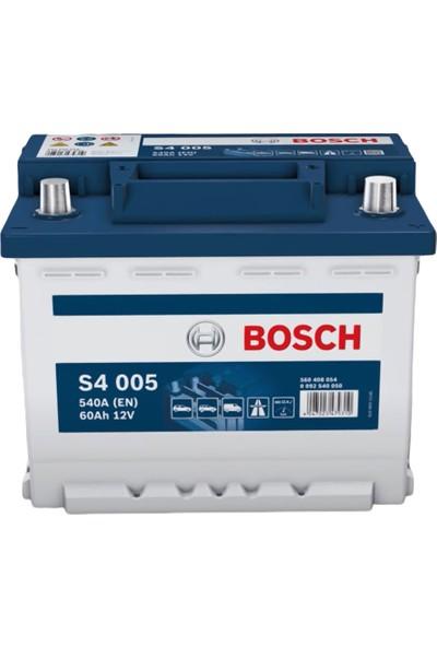 Bosch Akü 12V 60Ah S4 Silver Serisi 540 CCA