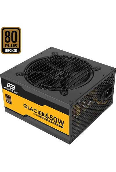 Power Boost BST-ATX650B Glacier 650W 80+ Bronze Modüler 12cm Fanlı ATX Power Supply