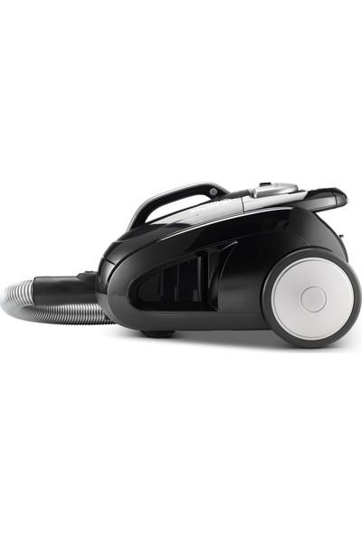 Nilfisk Meteor Deluxe 800W Torbasız Elektrikli Süpürge - Siyah