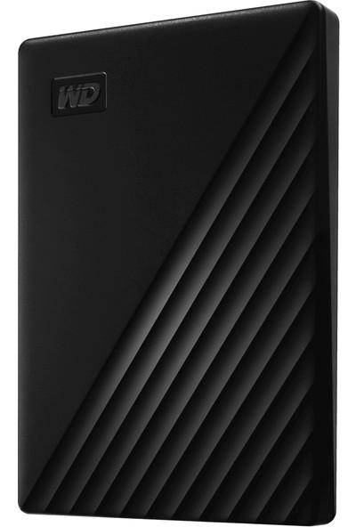 """WD My Passport 1TB 2.5"""" USB 3.0 Siyah Taşınabilir Disk (WDBYVG0010BBK-WESN)"""