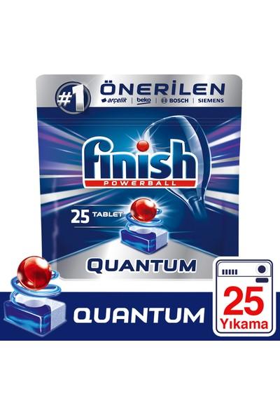 Finish Quantum Bulaşık Makinesi Tableti 25'li