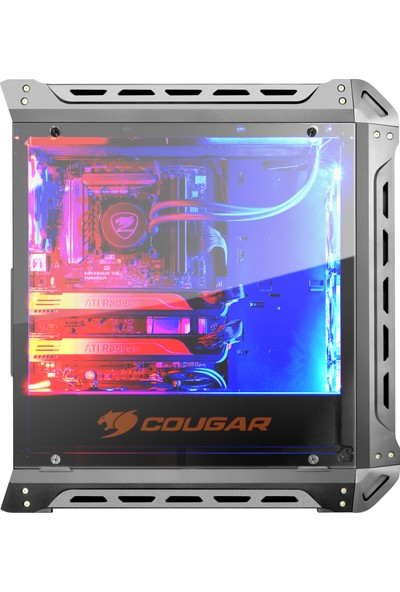 Cougar CGR-5GMLB-S Panzer-S Gaming USB 3.0 Transparent Panel ATX Midi Tower Kasa Bilgisayar Kasası