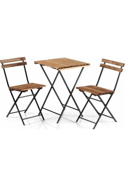 Reto Design Bistro Bahçe Masa Sandalye Seti