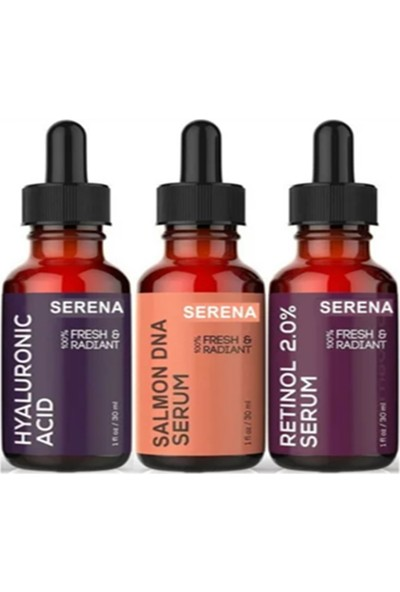 Serena Somon Dna + Hyaluronic Acid + Retinol Set