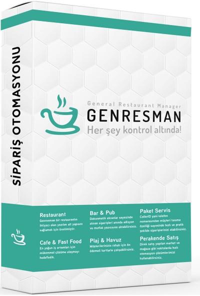Genresman Cafe / Restaurant Sipariş Yazılımı