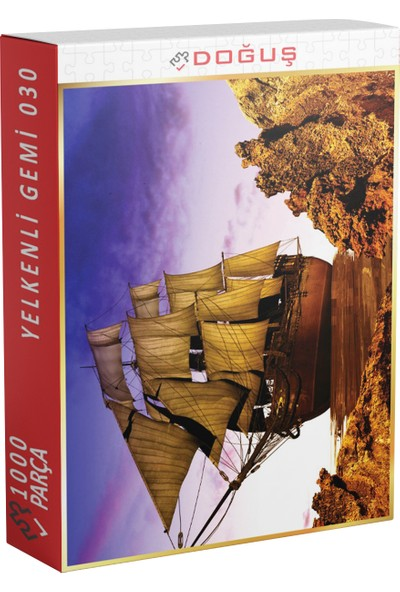 Doğuş 030 Yelkenli Gemi 1000 Parça Puzzle
