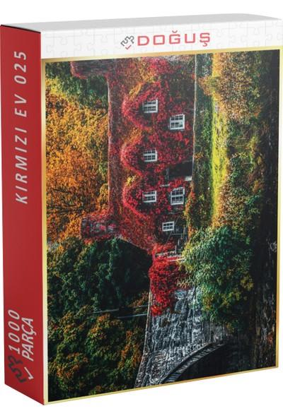 Doğuş 025 Kırmızı Ev 1000 Parça Puzzle