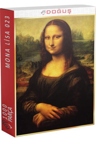 Doğuş 023 Monalisa 1000 Parça Puzzle