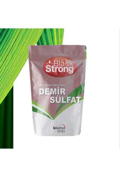 Black Strong Demir Sülfat Ec Fertilizer Demir Tuzu 25 kg