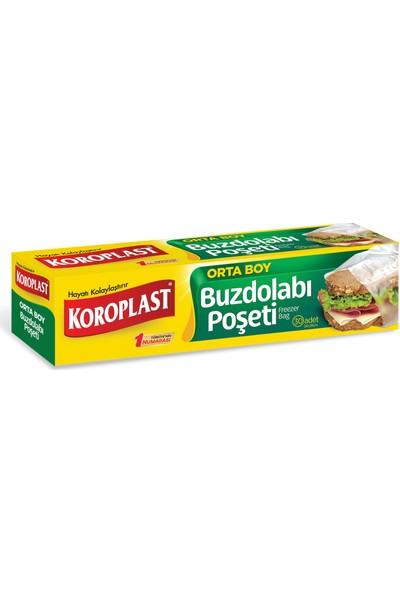 Koroplast Buzdolabı Poşeti Orta Boy 30'lu 24x38 cm