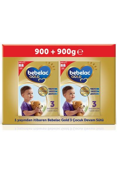Bebelac Gold 3 Çocuk Devam Sütü 1800 gr (900 gr + 900 gr) 1 Yaşından İtibaren