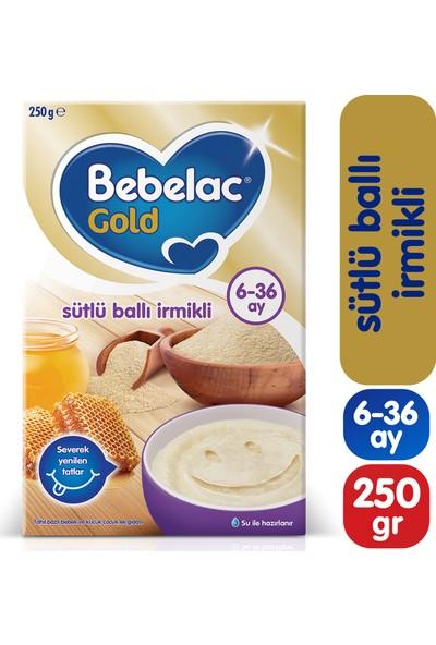 Bebelac Gold Sütlü Ballı İrmikli Kaşık Maması 250 gr