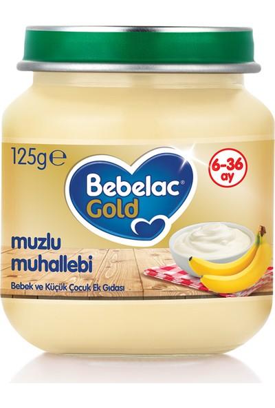 Bebelac Gold Muzlu Muhallebi Kavanoz Maması 125 gr