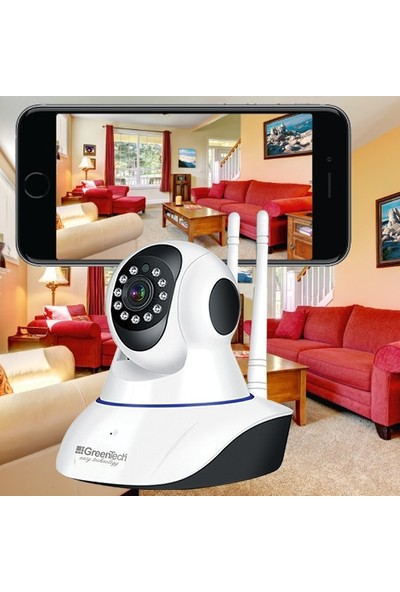 Greentech IP120HD Wifi Hareketli Ip Kamera