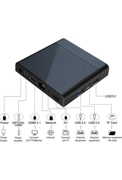 Inka V9 Amlogic S905X3 64 GB 8k Android Tv Box