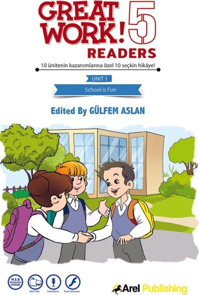 Arel Publıshıng 5.sınıf Great Work 10'lu Hikaye Kitabı Seti