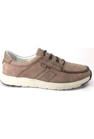 Marcomen 11315 Günlük Erkek Ayakkabı Vizon Nubuk